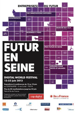 Affiche Futur.e.s 2013