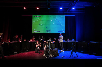 Le tournois de e-sport.